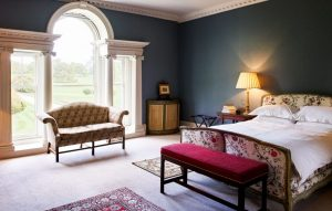 Bedrooms at Boconnoc
